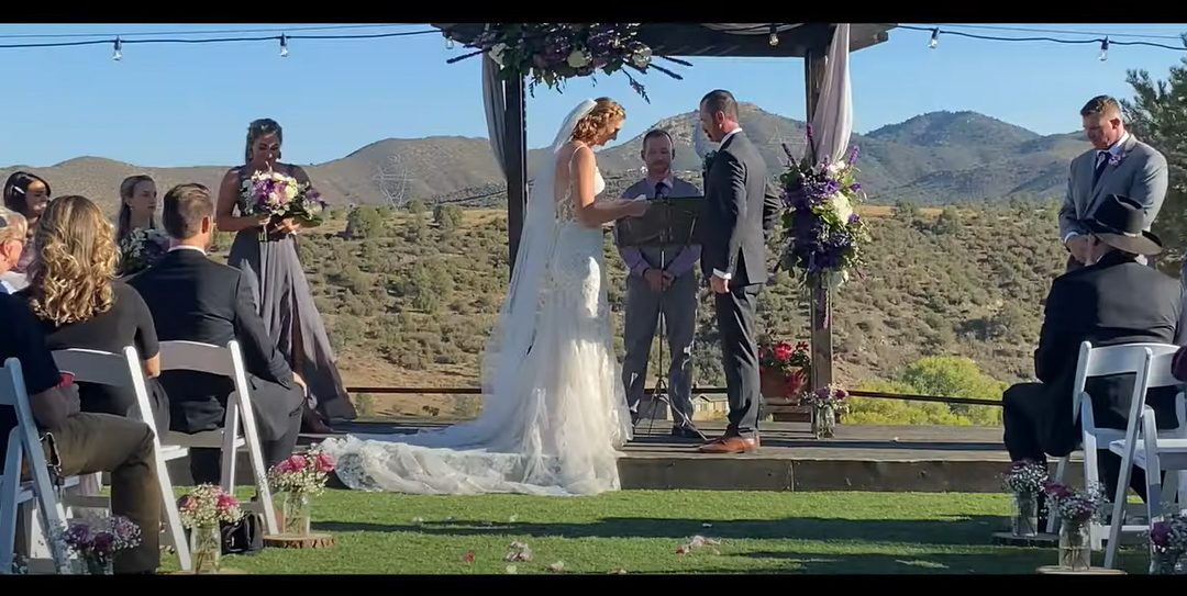 Fireman's Wedding