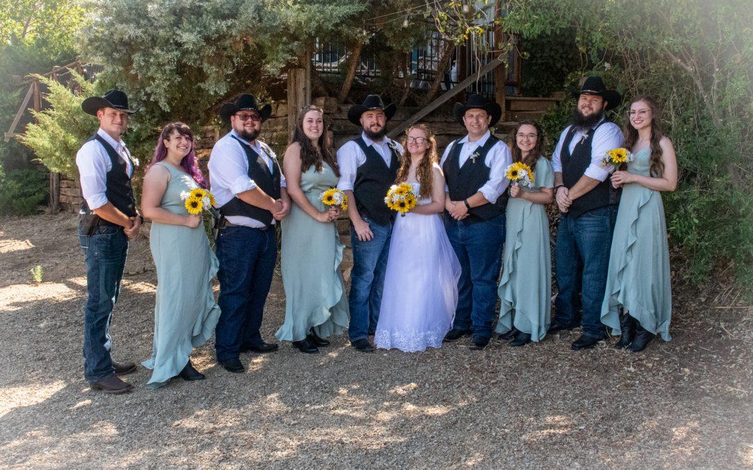 Danny & Shelby Lowman Wedding